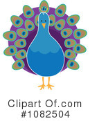 Peacock Clipart #1082504