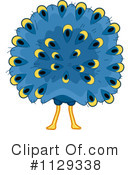 Peacock Clipart #1129338
