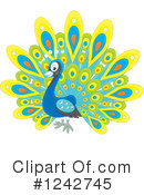 Peacock Clipart #1242745