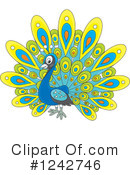 Peacock Clipart #1242746