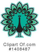 Peacock Clipart #1408487