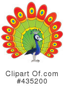Peacock Clipart #435200