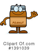Peanut Butter Mascot Clipart #1391039 by Cory Thoman