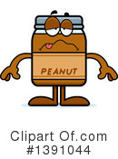 Peanut Butter Mascot Clipart #1391044 by Cory Thoman