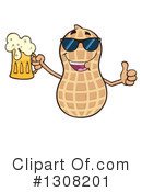 Peanut Character Clipart #1308201 by Hit Toon