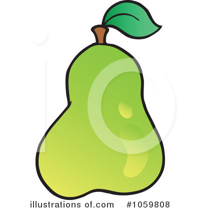 Pear Clipart #1059808 by visekart
