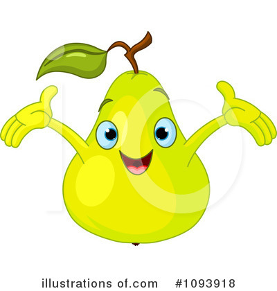 Pear Clipart #1093918 by Pushkin