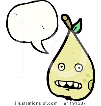 Pear Clipart #1191537 by lineartestpilot