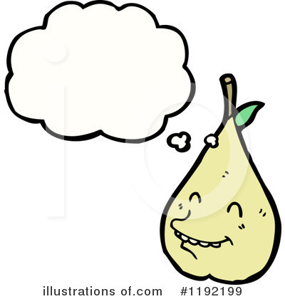 Pear Clipart #1192199 by lineartestpilot
