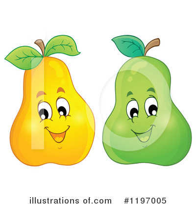 Pear Clipart #1197005 by visekart