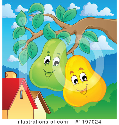 Fruit Clipart #1197024 by visekart