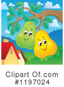 Royalty-Free (RF) Pear Clipart Illustration #1197024