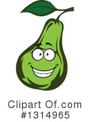Pear Clipart #1314965 by Vector Tradition SM