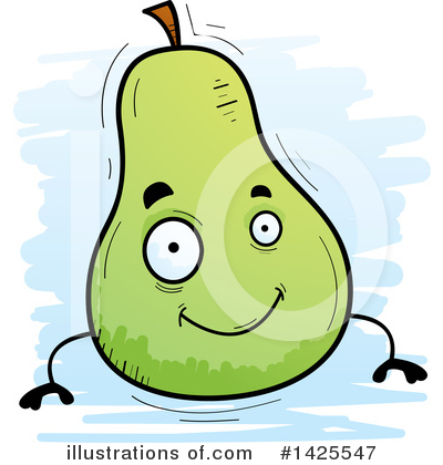 Pear Clipart #1425547 by Cory Thoman
