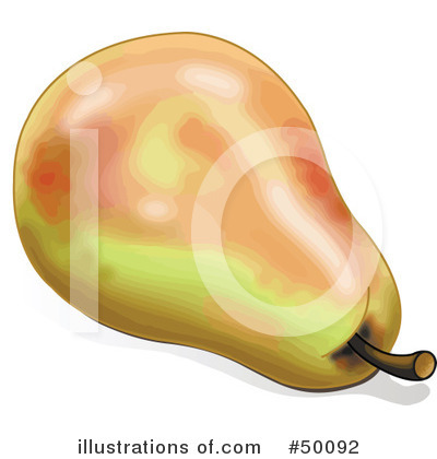 Pear Clipart #50092 by Pushkin