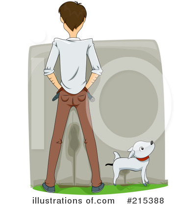 Royalty-Free (RF) Peeing Clipart Illustration by BNP Design Studio - Stock Sample #215388