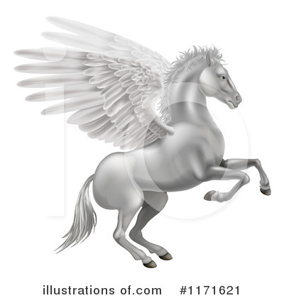 Pegasus Clipart #1171621 by AtStockIllustration