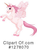 Royalty-Free (RF) Pegasus Clipart Illustration #1278070