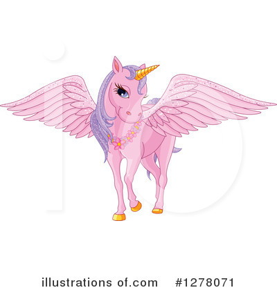 Pegasus Clipart #1278071 by Pushkin
