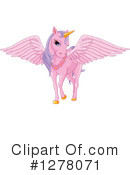 Royalty-Free (RF) Pegasus Clipart Illustration #1278071