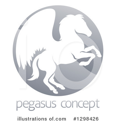 Pegasus Clipart #1298426 by AtStockIllustration