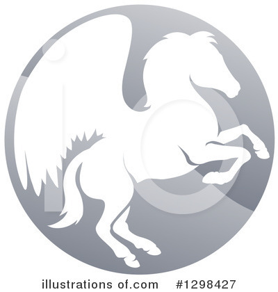 Pegasus Clipart #1298427 by AtStockIllustration