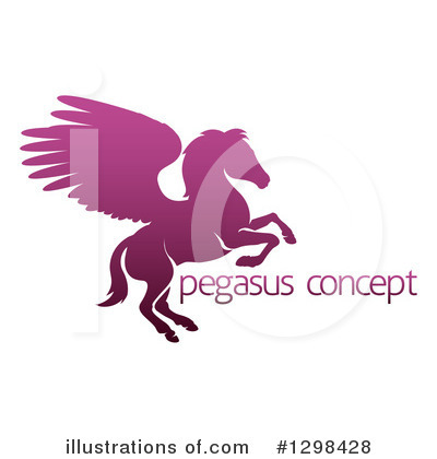 Pegasus Clipart #1298428 by AtStockIllustration