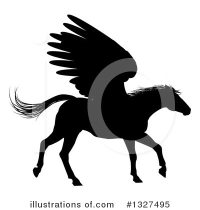 Pegasus Clipart #1327495 by AtStockIllustration
