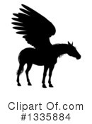 Pegasus Clipart #1335884 by AtStockIllustration