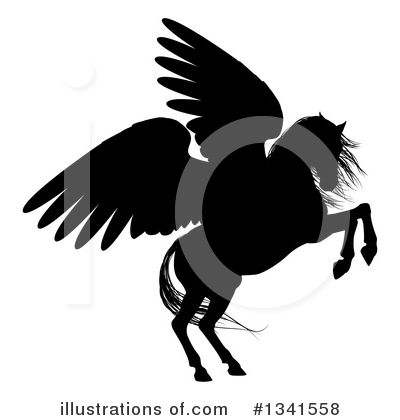 Pegasus Clipart #1341558 by AtStockIllustration