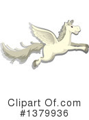 Pegasus Clipart #1379936 by Graphics RF