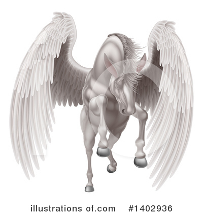 Pegasus Clipart #1402936 by AtStockIllustration