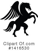 Pegasus Clipart #1416530 by Vector Tradition SM