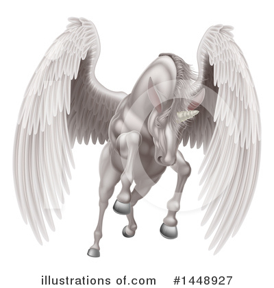Pegasus Clipart #1448927 by AtStockIllustration