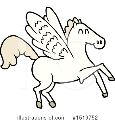 Pegasus Clipart #1519752 by lineartestpilot
