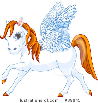 Pegasus Clipart #39045 by Pushkin