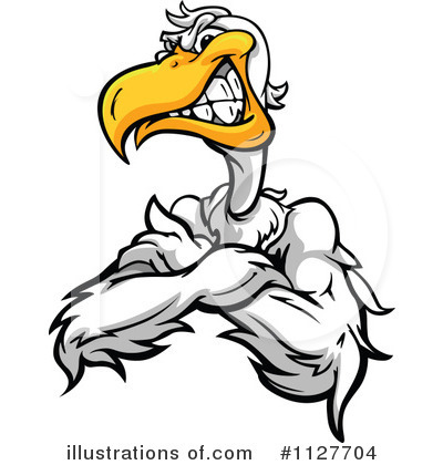 Pelican Clipart #1127704 by Chromaco