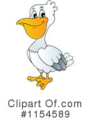 Royalty-Free (RF) Pelican Clipart Illustration #1154589