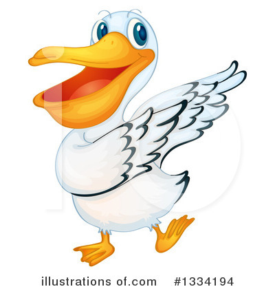 Pelican Clipart #1334194 by Graphics RF