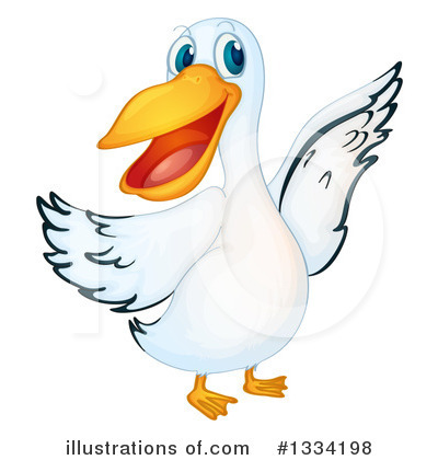 Pelican Clipart #1334198 by Graphics RF