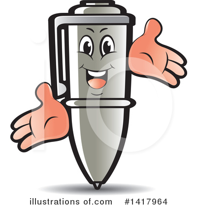 Writing Clipart #1417964 by Lal Perera