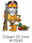 Pencil Clipart #10240 by Toons4Biz