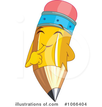 Pencil Clipart #1066404 by Pushkin
