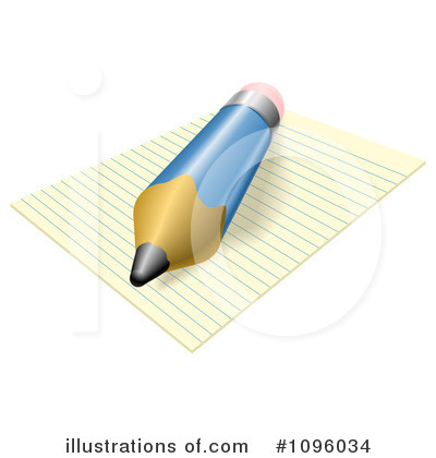 Writing Clipart #1096034 by AtStockIllustration