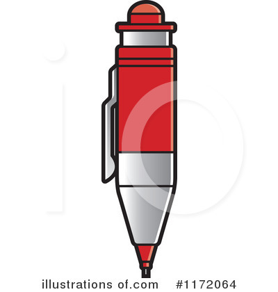 Pencil Clipart #1172064 by Lal Perera