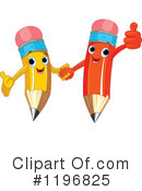 Pencil Clipart #1196825 by Pushkin