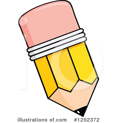 Pencil Clipart #1202372 by Hit Toon