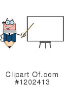 Royalty-Free (RF) Pencil Clipart Illustration #1202413