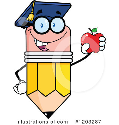 Pencil Clipart #1203287 by Hit Toon