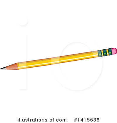 Pencil Clipart #1415636 by Pushkin
